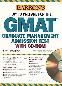 How to Prepare for the GMAT (+ CD-ROM) Издательство: Barron's, 2004 г Мягкая обложка, 592 стр ISBN 0-7641-7586-6 инфо 11311m.
